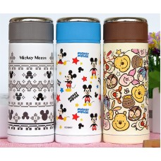 Mini Mickey Stainless Steel Water & Tea Bottle Thermos Cup Vacuum Flask - 200 ml include tea infuser