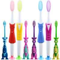 8PC Cartoon Family Toothbrush For Family