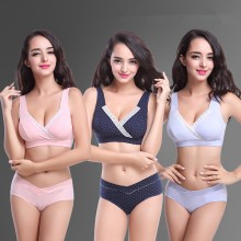 Pregnant Maternity Bra Underwear Breast feeding Bras Nursing Sleepwear