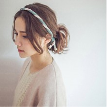 DIY Colorful Hairband with Pearl - 10 colors