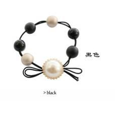 Pearl Ball Elastic Hairband Ponytail Holder Hair Tie Band